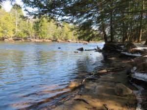 38 ACRES WITH OVER 3,300 FEET ON THE MAIN BRANCH OF THE OSWEGATCHIE RIVER<br> NEW!<br>38.00 Acres<br>Fine, NY<br>$99,000.00<br>